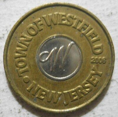 Town of Westfeld (New Jersey) parking token - NJ3950B