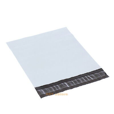 100 White Poly Mailers Envelopes Mailing Bags 6 X 9155 X 23545mm