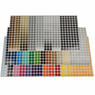 Color Coding Dot Labels 1/2 inch Round Stickers 105 pack Indoor/Outdoor Vinyl](Colored Dot Stickers)