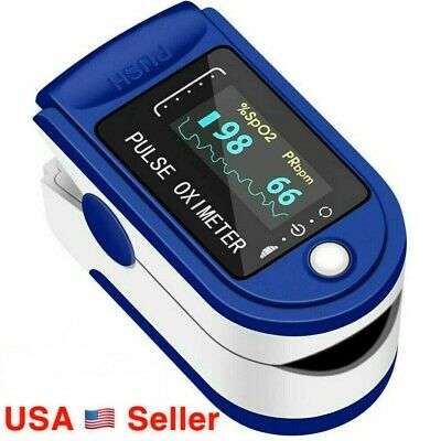 Quality Fingertip Pulse Oximeter Blood Oxygen Heart Rate Spo2 Monitor Pr Pi