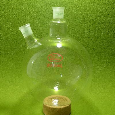2 Neck Round Bottom Flask3000ml2429 Ground Jointlaboratory Glasswarelab Rbf