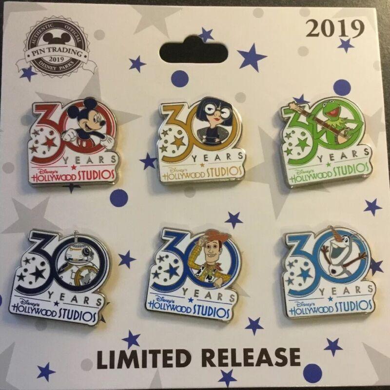 2019 Disney Hollywood Studios 30th Anniversary Booster Pin Set 30 Years BB-8
