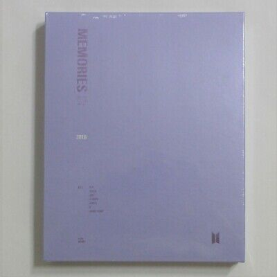 BTS Official Memories Of 2018 DVD Full Package Factory Sealed + Free Expedited