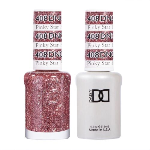 DND Daisy Duo Gel W/matching nail polish lacquer -PINKY STAR