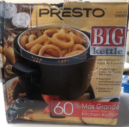 Presto Big Kettle Multi Cooker Steamer 06008 Kitchen Appliance Fast Shipping