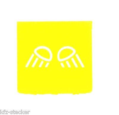 Schalter Symbol Symbolscheibe Arbeitsbeleuchtung Lichtgiraffe Hella ENG