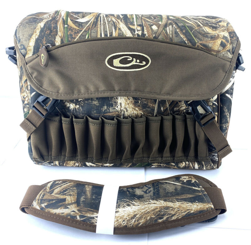 DRAKE Waterfowl Hunting Shoulder Bag 2.0 RealTree Max-5 Camp / Shell Holders
