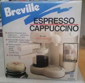 Breville Espresso Cappuccino Chatswood Willoughby Area Preview