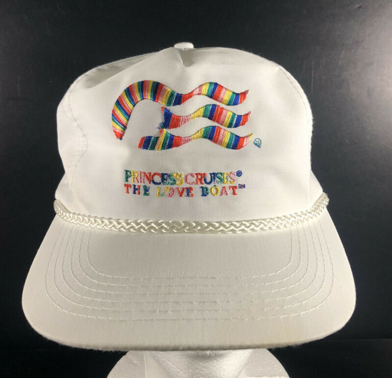 Vintage Princess Cruises Hat - The Love Boat - Head To Toe