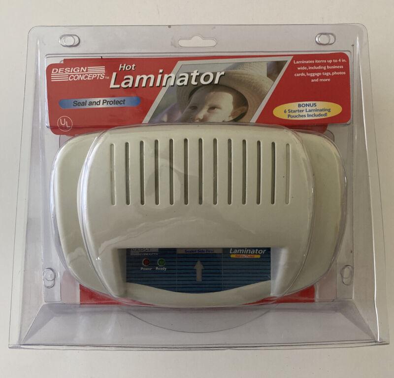 NEW Design Concepts Hot Laminator