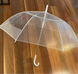 17 clear wedding umbrellas