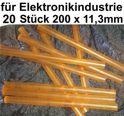 20x Heißklebepatrone Industrie Elektronik Schmelzklebstoff Klebestick Bühnen