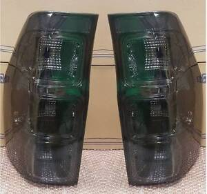 Ford Ranger Pair NEW Smoked Rear Tail Lights 2012 - 2017 Models Newcastle Newcastle Area Preview