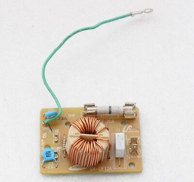 Original SN-UF12A Noise Filter w/ Fuse For/From Samsung MC11K7035CG Microwave 12a Noise Filter