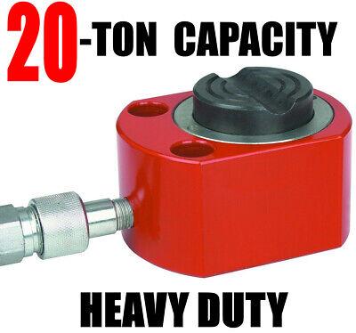 20 Ton Short Body Ram Hydraulic Air Pneumatic Auto Body Portable Power Jack New