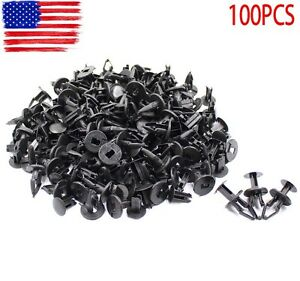 gm fasteners motors 100pcs for gmc gm fender liner clip push type fastener flares retainer 11589292