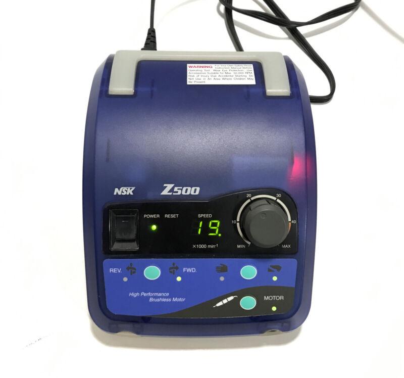 NSK Nakanishi Z500 High Performance Motor Dental Console (No Hand Piece)