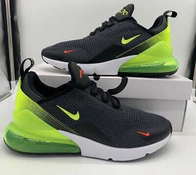 Nike Air Max 270 SE Neon Collection Black Volt Mens Size AQ9164-005