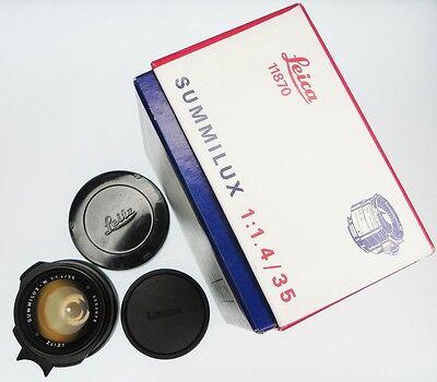 Объективы Leica 35mm f1.4 Summilux-M #3253678
