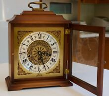 W. Haid Mantle Clock made in West Germany with Key Ashburton Boroondara Area Preview