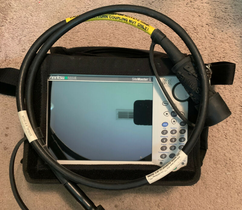 Anritsu Site Master S331E Cable & Antenna Analyzer SiteMaster S331