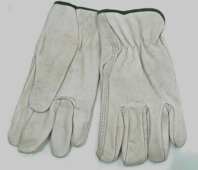 100 Leather Work Gloves Size Medium. Item.1748