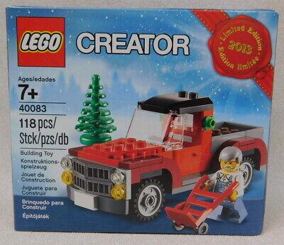 Lego Creator Holidays 40083 Christmas Truck Seasonal Limited Edition 2013