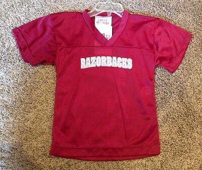 "KIds 2T ""Razorbacks"" Football Dress Halloween Up Costume Uniform Jersey - Football Jersey Dress Halloween Costume"