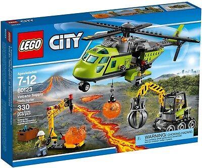LEGO - CITY - 60123 - L'HÉLICOPTÈRE DU VOLCAN