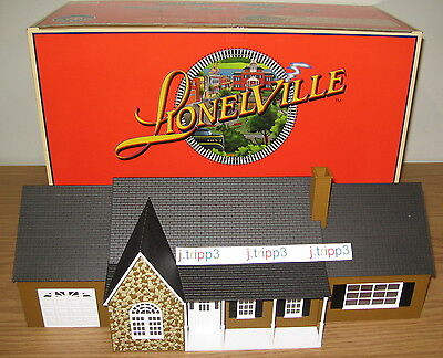 LIONEL 6-34110 ESTATE HOUSE HOME O GAUGE TOY TRAIN ACCESSORY LAYOUT LIGHTED NIB for sale  Shipping to Canada