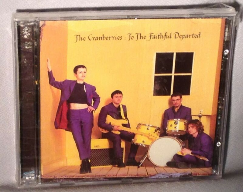 Cd Cranberries To The Faithful Departed Original Ch New Mint Sealed
