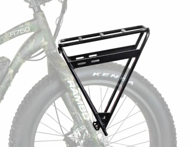 NEW RAMBO ELECTRIC FAT TIRE HUNTING BIKE FRONT LUGGAGE RACK - R151