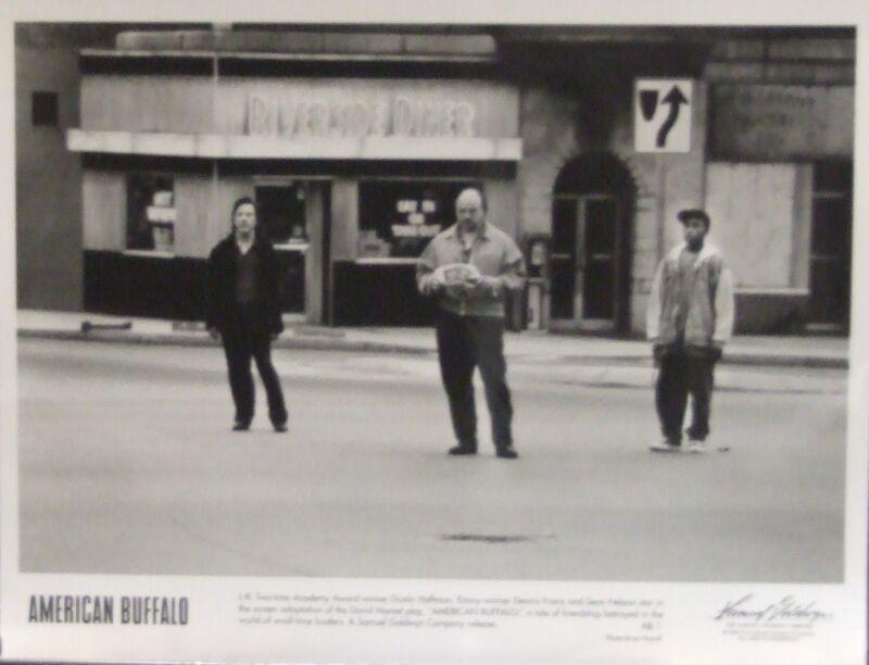 A tale of friendship betrayed in AMERICAN BUFFALO- Dustin Hoffman LOT of 3