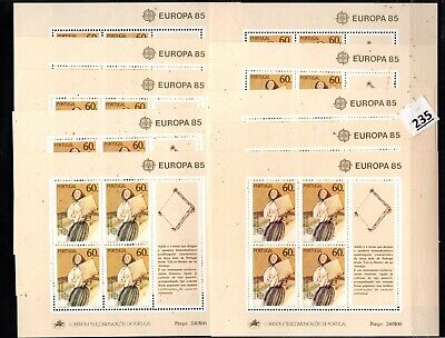 # 10X PORTUGAL 1985 - MNH - EUROPA CEPT - MUSIC