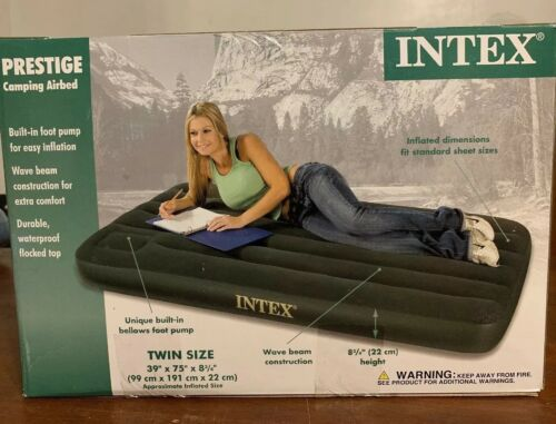 prestige twin 8 75 inflatable airbed mattress