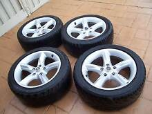 Holden Commodore Mag Wheels & Tyres Minyama Maroochydore Area Preview