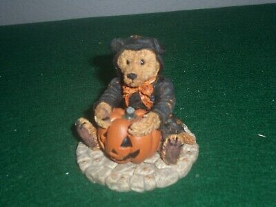 BOYDS BEARS MORIARITY THE BEAR IN THE CAT SUIT FOR HALLOWEEN NEW IN BOX