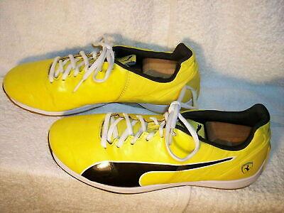 Puma Ferrari EvoSpeed 4.1 Yellow sz 9.5 Sneakers Shoes