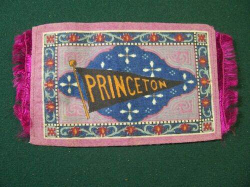 B32   COLLEGE PENNANT- PRINCETON (APP. 5 X 7 INCHES)
