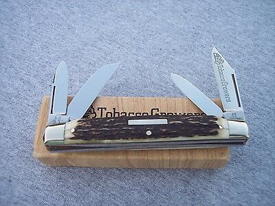 KISSING CRANE # GERMAN MADE STAG TOBACCO GROWERS LARGE CONGRESS KNIFE KNIVES