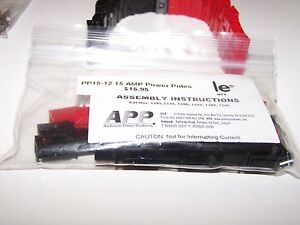 12-PAIRS-ANDERSON-POWER-POLES-PP15-AMP