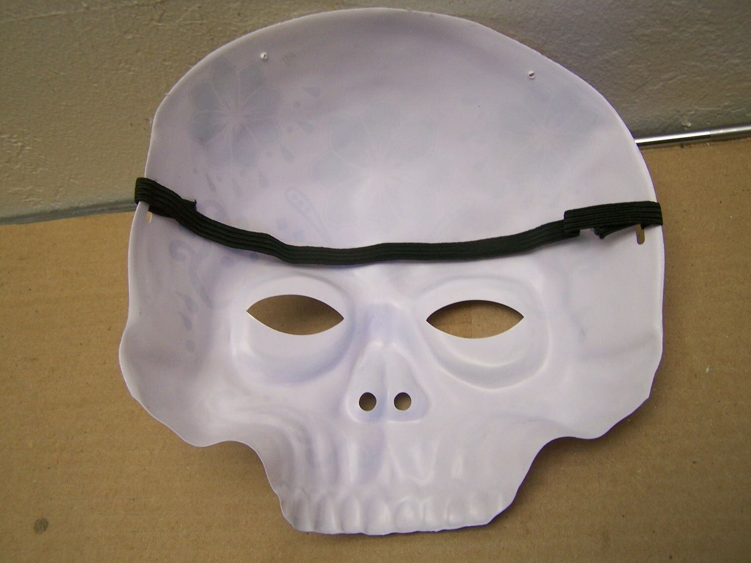 sugar skull halloween mask with elastic strap dp purple 2 of 2 see more