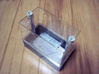 Weatherproof Electrical Enclosure Box Plastic Clear  5 34 X 2 78 X 4 34