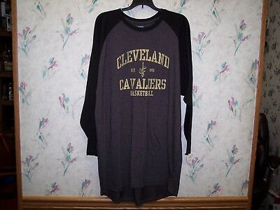 CLEVELAND CAVS NBA STORE MENS LONG SLEEVE SHIRT SIE LARGE TALL BRAND - Cavs Store