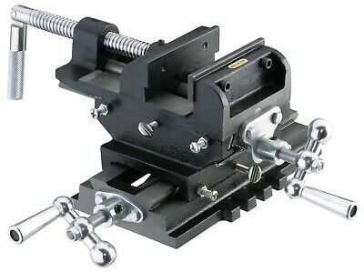 New 5 Metal Milling Cross Drill Press Vise Slide 2 Way X-y Clamp Machine