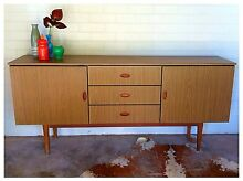 Parker eames era retro buffet sideboard tv unit delivery available Carey Bay Lake Macquarie Area Preview