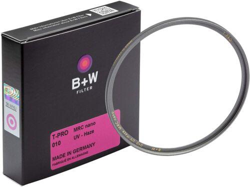 B+W 55mm UV-Haze Filter Ultra Slim Titan Mount T-PRO 16 Layers MRC Nano Coating