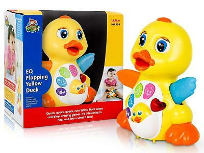 CifToys Dancing Musical Duck Toy for 1 Year Old Boys & Girls Gifts with Lights - Year Olds