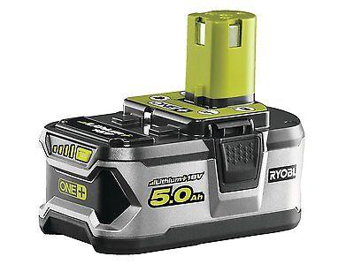 Ryobi Akku 18 V, 5,0 Ah Lithium Ionen Batterie one Plus 1 Stück RB18L50 OVP