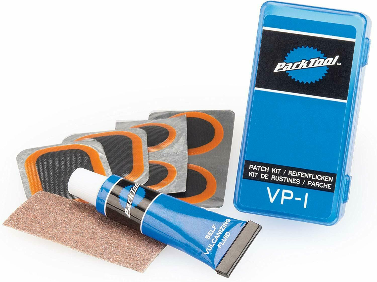 Park Tool VP-1 Vulcanizing Patch Kit for for Bicycle Tube Re